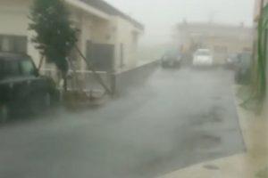 Galingas taifūnas talžo pietinę Japonijos dalį