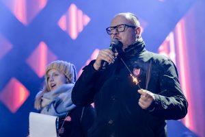 Už nužudytą Gdansko merą Vilniuje bus aukojamos mišios
