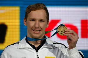Nauja plaukimo žvaigždė: S. Bilis iškovojo pasaulio čempionato auksą