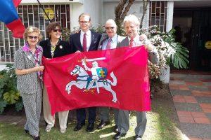 Kolumbijoje oficialiai atidarytas Lietuvos garbės konsulatas