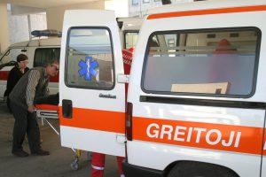 Klaipėdos rajone susidūrus dviems automobiliams sužaloti penki žmonės