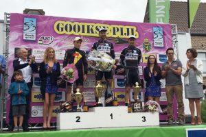 A. Kruopis laimėjo vienadienes dviratininkų lenktynes Belgijoje