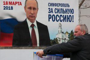 V. Putinas nenusivils rinkimais, o rusai – V. Putinu?
