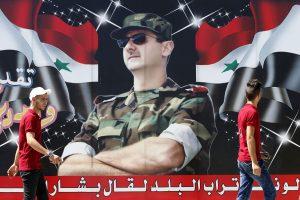 B. al Assadas kaltina Izraelį numušus Rusijos lėktuvą