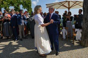 V. Putinas sušoko Austrijos užsienio reikalų ministrės vestuvėse
