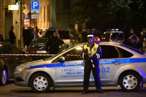 Maskvoje nukautas į policininkus šaudęs užpuolikas