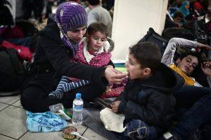 Vilniuje – ir pabėgėlių šalininkų, ir priešininkų akcijos