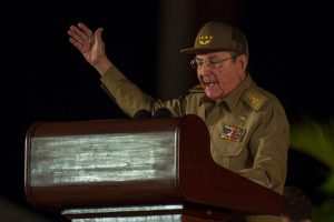 R. Castro iš Kubos prezidento pareigų pasitrauks 2018-ųjų balandį