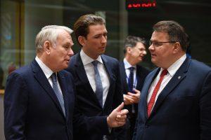 L. Linkevičius: būtina išlaikyti sankcijas Rusijai