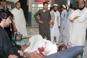 Afganistane per sprogimą prekyvietėje žuvo keturi, sužeista 14 žmonių