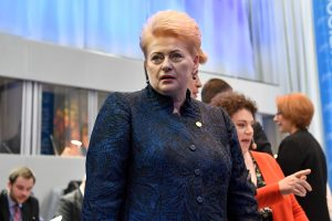 D. Grybauskaitė: Baltarusijoje šeimininkauja Maskva, o ne Minskas