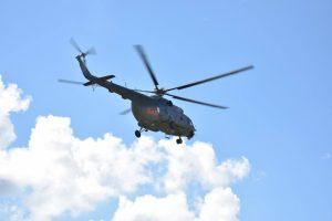 Trakų apylinkėse su sraigtasparniu ieškota mergina rasta Vilniuje