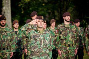 Lietuvoje treniruosis ketvirtoji Portugalijos karių rotacija
