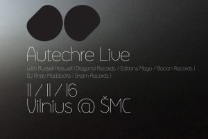 """Elektronikos dueto """"Autechre"""" koncertas perkeliamas į didesnę erdvę"""