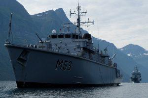 Lietuvos karinis laivas baigia budėjimą NATO daliniuose