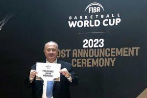 2023-iųjų pasaulio krepšinio čempionatas vyks trijose šalyse