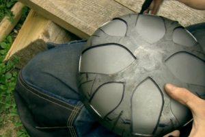 Vilniečio rankose metalo diskai virsta unikaliais muzikos instrumentais