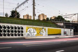 Sostinę papuošė trys nauji lenkų menininkų darbai