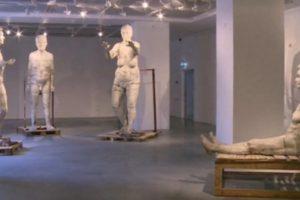 Vilniuje – M. Saukos betoninių skulptūrų paroda
