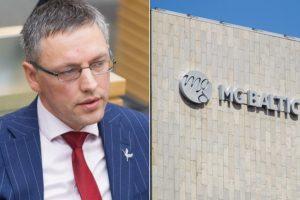 """""""MG Baltic"""" dėl žalos reputacijai V. Bakui prašo skirti 300 eurų baudą"""