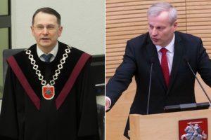 D. Žalimas apie M. Basčio situaciją: teisinėje valstybėje to neturi būti