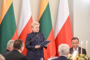 Prezidentūra: Lietuvos ir Lenkijos santykiai labai geri