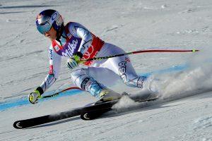 JAV kalnų slidininkė tapo rekordininke pagal iškovotas pergales