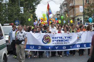 """Vakarų ambasados reiškia paramą """"Baltic pride"""""""