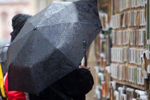 Orai: prireiks skėčių – artinasi nauja kritulių juosta