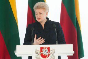 D. Grybauskaitės atsakas lietuvius užgauliojusiam R. Sikorskiui