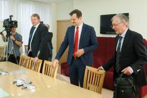 A. Palionis: Seimo socdemai nepažeidė partijos statuto