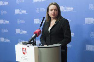 Atsistatydinusi M. Vainiutė: ministerijai reikėtų stipresnio žmogaus