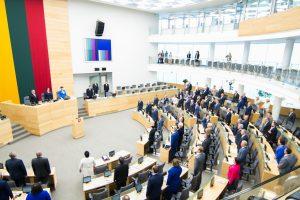 Naujasis Seimas susirinks iki lapkričio vidurio