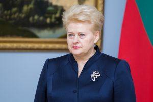 Prezidentė: dėl Vasario 16-osios akto kalbamasi su Vokietija, sprendimų nėra