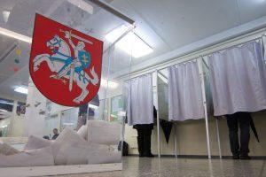 Atiduoti balso už naują merą ar Seimo narį rinkėjai neskuba
