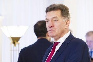 A. Butkevičius prašo aiškintis, kaip į viešumą pateko slapta informacija