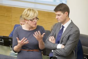 Audito komiteto vadove konservatoriai siūlys skirti I. Šimonytę