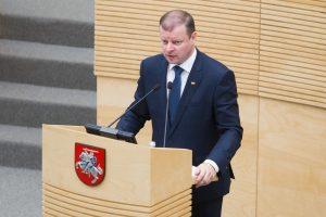 S. Skvernelis: naujos Vyriausybės laukia daug iššūkių