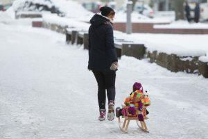 Savaitgalį į Lietuvą plūstels šaltis