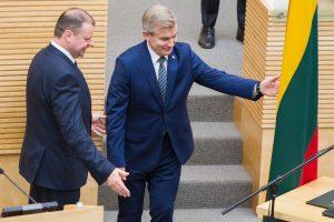 Seimo pirmininkas: apkaltų Seime gali būti ir daugiau