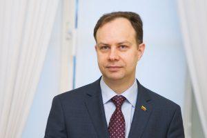 A. Verygos komandoje – nauja viceministrė