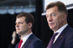 Socialdemokratus skaldo klausimas dėl koalicijos