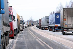 Vežėjams dėl krovinių grumtis siūloma internetu