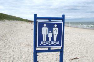 Netoli nudistų paplūdimio siautėjo vagys