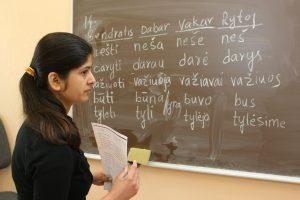 Pabėgėliai bus intensyviau mokomi lietuvių kalbos