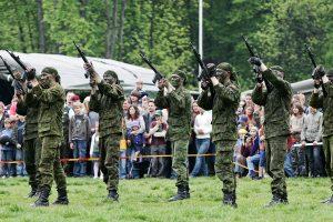 Rietave – šventinė diena su Lietuvos kariuomene