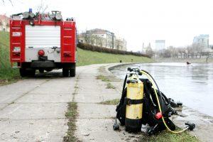 Iš Neries Vilniuje ištrauktas skenduolis
