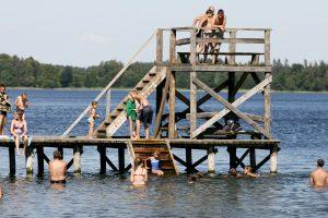 Dalyje Lietuvos maudyklų – užterštas vanduo