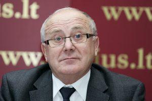 S. Šriūbėno byla prokuratūrai dėl trūkumų grąžinta pagrįstai