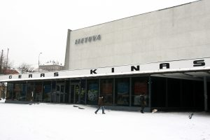 V. Butkus domisi galimybe Modernaus meno centrą įkurti vietoje Lietuvos kino teatro